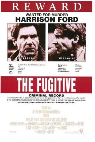 Harrison Ford encarnou um dos fugitivos mais famosos da história americana.
