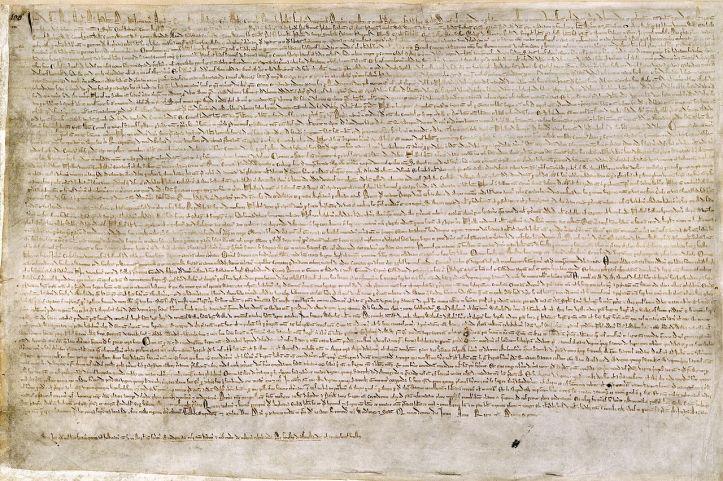 A Magna Carta de João Sem-Terra (1215)