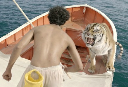 "As Aventuras de Pi e ""Richard Parker""."