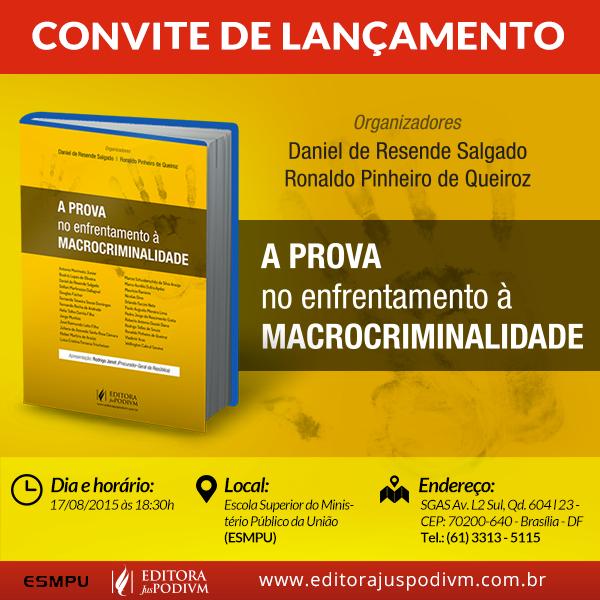 Procuradores lançam livro sobre direito probatório